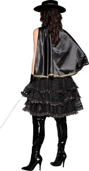 Sexy Beautiful Bandida Zorro Costume