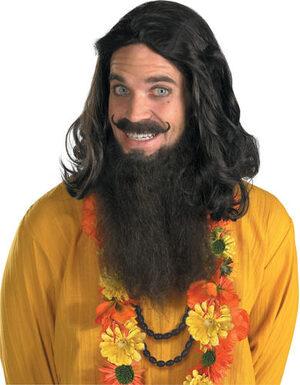 Love Guru Wig and Beard