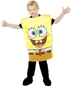 Boys Friendly Spongebob Kids Costume