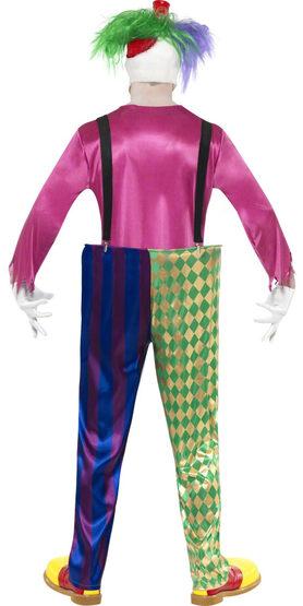 Colorful Killer Clown Adult Costume