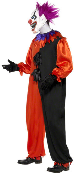 Cirque Sinister Scary Clown Adult Costume
