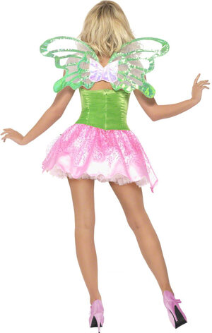 Sexy Green Garden Fairy Costume