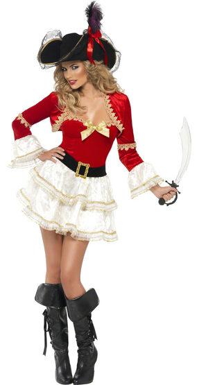 Sexy Plentiful Pirate Wench Costume
