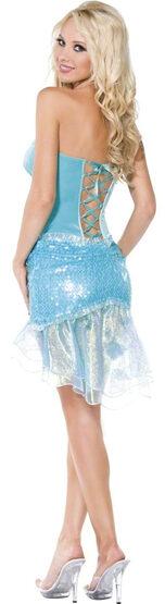 Sexy Little Mermaid Seafoam Dress Costume