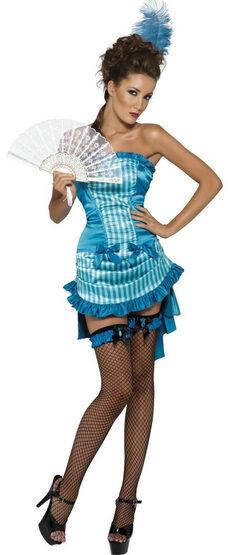 Sexy Lady Elegance Saloon Girl Costume