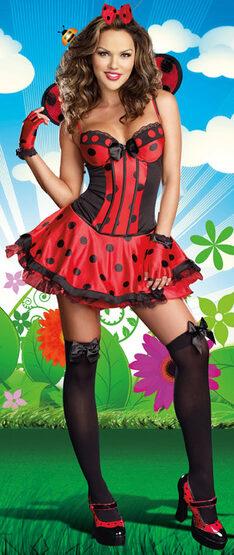 Sexy Just Buggin Ladybug Costume