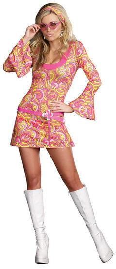 Sexy 60s Go Go Gorgeous Costume