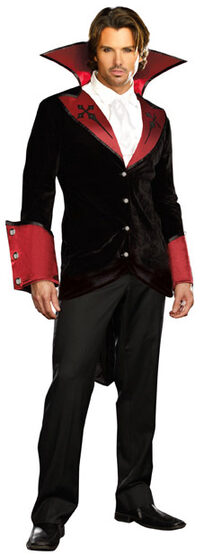 Mens Just One Bite Vampire Adult Costume