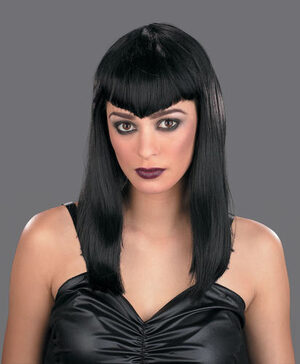 Adult Gothic Vampire Wig