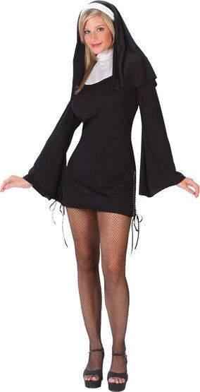 Womens Naughty Nun Sexy Costume