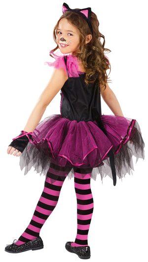 Girls Catarina Kids Cat Costume