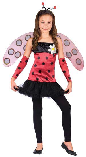 Girls Lovely Ladybug Kids Costume