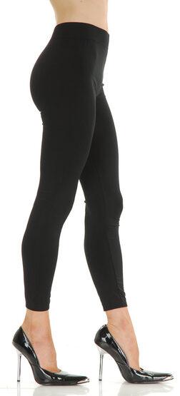 Solid Nylon Plus Size Legging