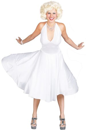 Womens Deluxe Adult Marilyn Monroe Costume