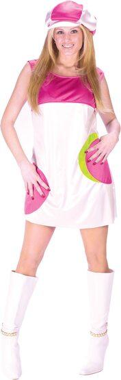 Womens Adult Go-Go Girl 60s Costume