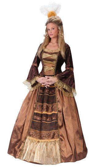 Womens Historic Baroness Adult Costume