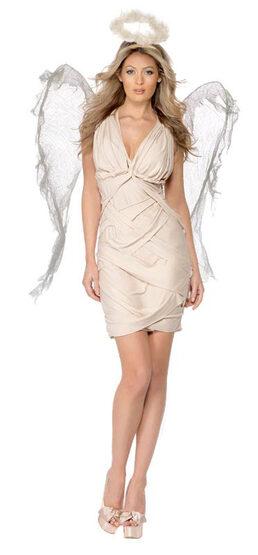 Cream Fallen Angel Adult Costume