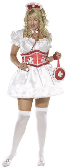 Sexy Sweetheart Nurse Costume