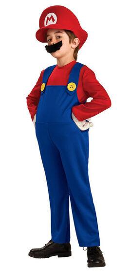 Kids Deluxe Super Mario Costume