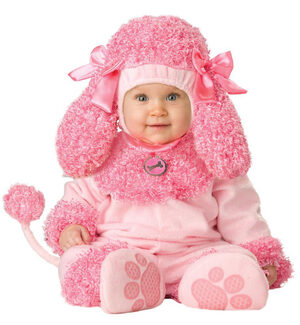 Girls Precious Poodle Baby Costume
