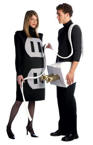 Plug and Socket Couples Costume