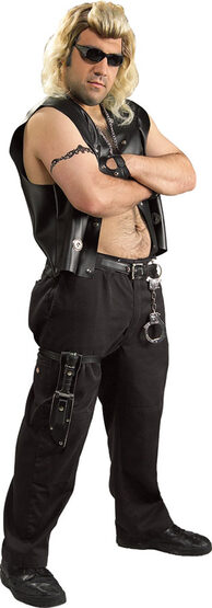 Dog The Bounty Hunter Adult Costume