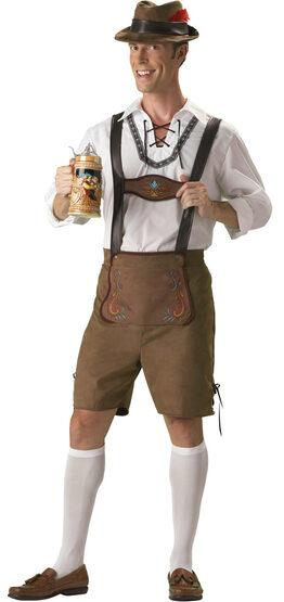 Oktoberfest Guy Adult Costume