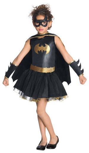 Girls Batgirl Tutu Kids Costume