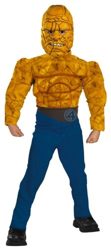 The Thing Muscle Chest Kids Superhero Costume