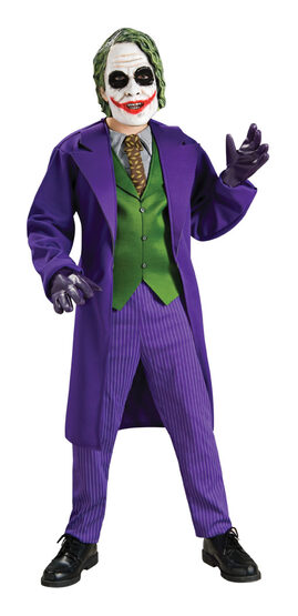 Kids The Joker Costume Deluxe with Mask