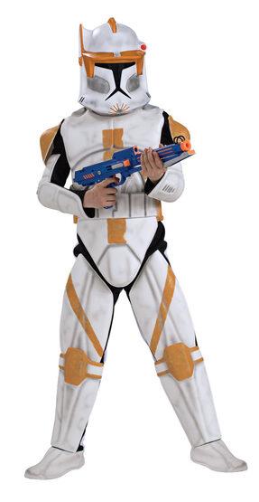 Deluxe Kids Commander Cody Clone Trooper Costume