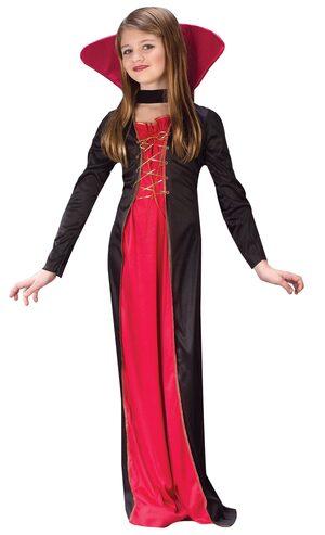 Kids Victorian Vampiress Costume