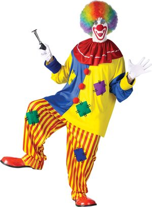 Adult Mens Big Top Clown Costume