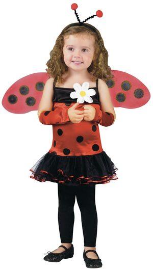 Kids Lovely Ladybug Toddler Costume