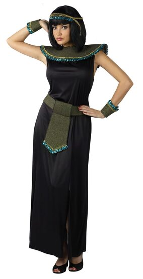 Womens Adult Midnight Cleopatra Costume