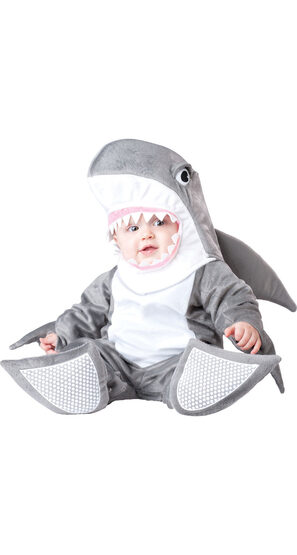 Soft Silly Shark Baby Costume
