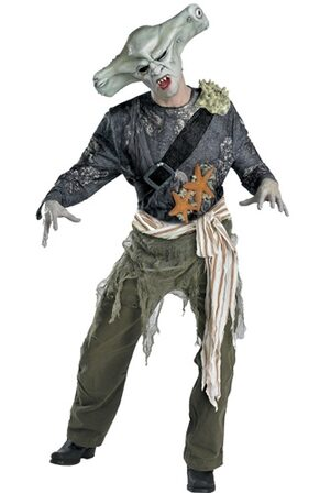 Adult Maccus Sharkman Pirates of the Caribbean Costume