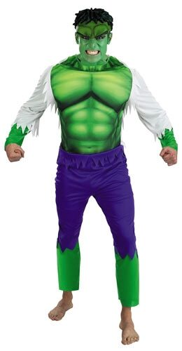 Hulk Adult Superhero Costume