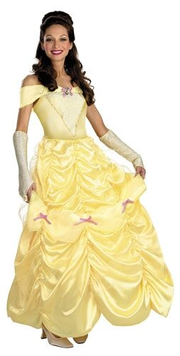 Disney Deluxe Adult Belle Costume