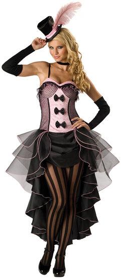 Burlesque Babe Adult Saloon Girl Costume