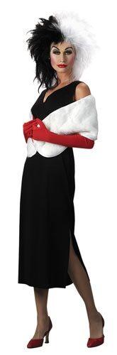 Adult Cruella De Vil Disney Costume