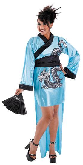 Dragon Geisha Plus Size Costume