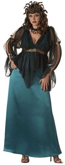 Medusa Plus Size Costume