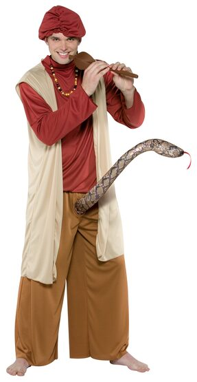 Snake Charmer Adult Funny Costume