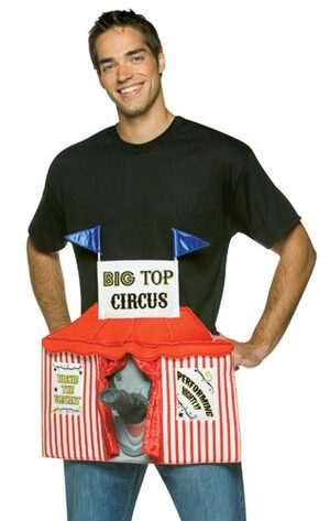 Big Top Circus Funny Adult Costume