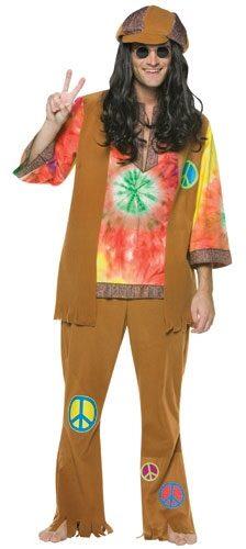 Hippie Guy Adult Costume