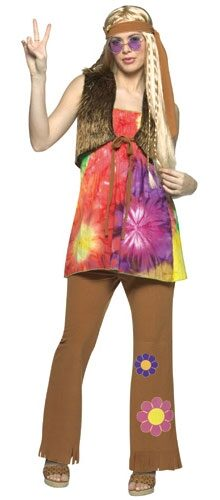 Hippie Girl Adult Costume
