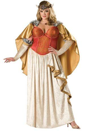 Viking Princess Plus Size Costume