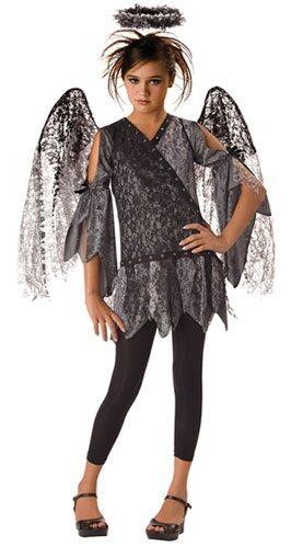 Fallen Angel Gothic Kids Costume