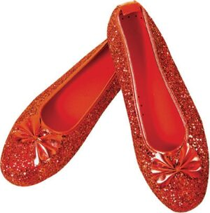 Dorothy Deluxe Adult Small Shoes